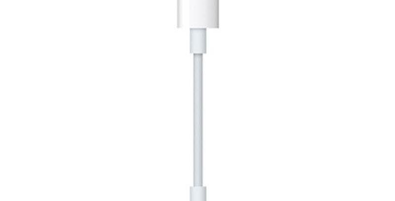 Adaptador de Lightning a Jack de 3.5 mm Para Audífonos