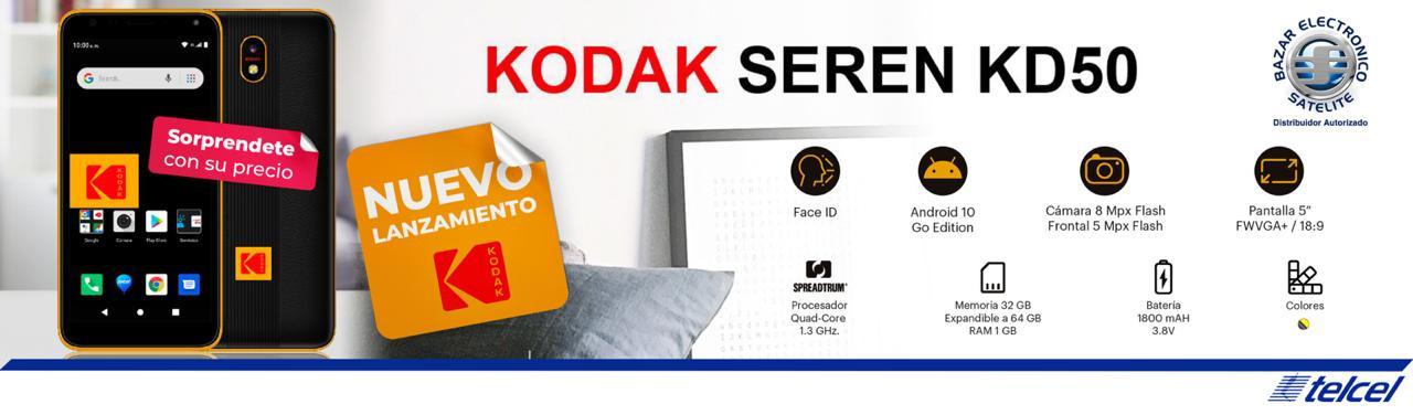 Nuevo Kodak Seren KD50