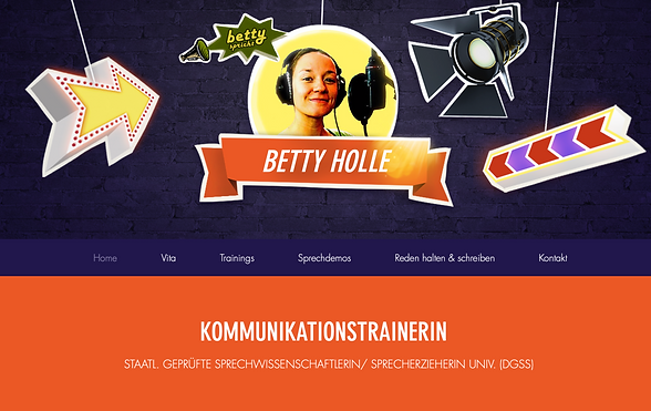 Betty Holle Sprecherin Sprecherzieherin Rednerin