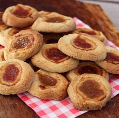 Rabarber koekjes