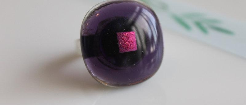 Ring paars op paars