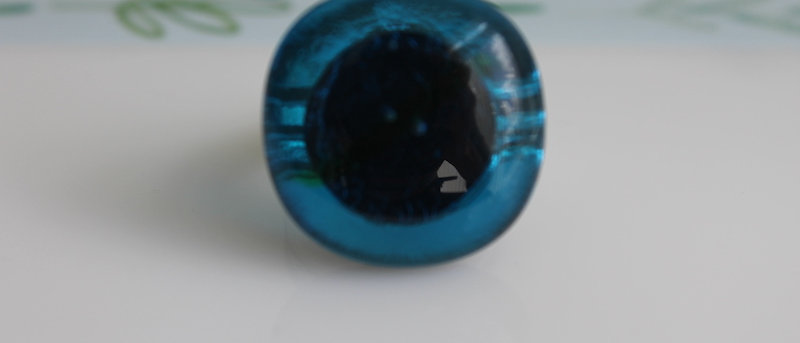 Ring blauw groen