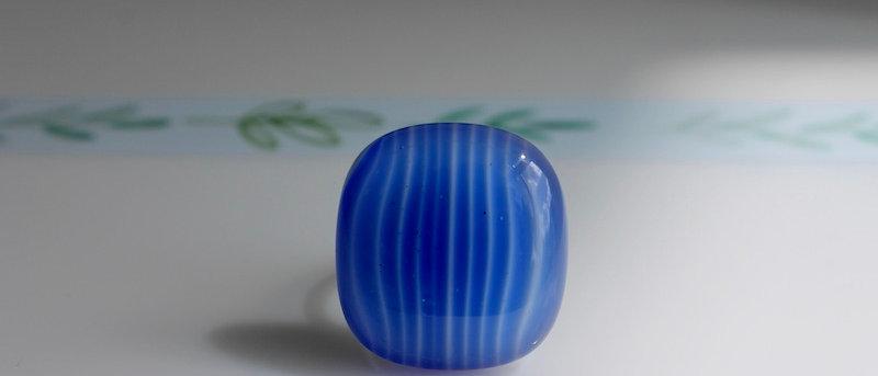 Ring blue stripes