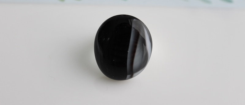 Ring zwart grijs