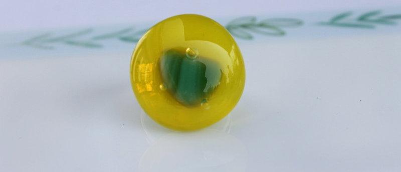 Ring geel groen