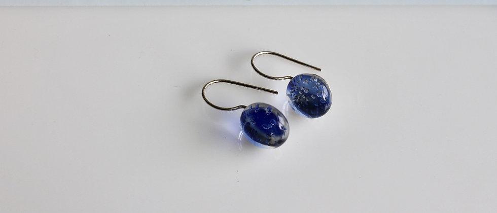 Kleine oorhangers blauw