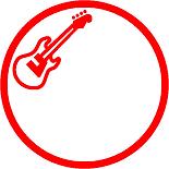 印鑑ハンコはんこイラスト入り銀行印ギターベースバンドキングヌー歌手活動ライブLIVE結婚式結婚ウェディングブライダル挙式披露宴婚姻届け婚約彫刻