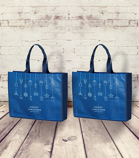 "Die Apotheken-Shopping-Tasche ""MERRY CHRISTMAS - HAPPY NEW YEAR"""