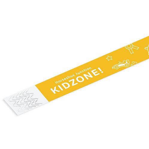 KidZone! Wristband ($9.95+tax)