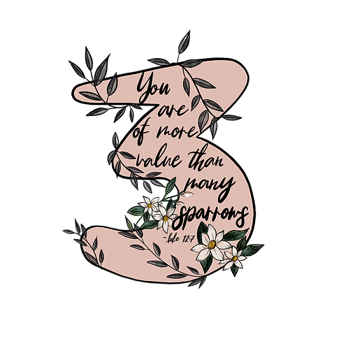 Enneagram 3 // A verse for your fears Sticker