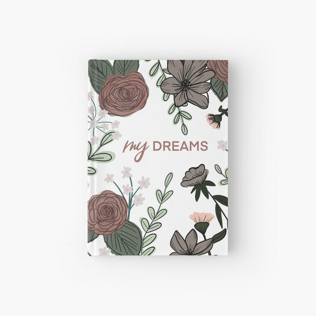 My Dreams Hardcover Journal