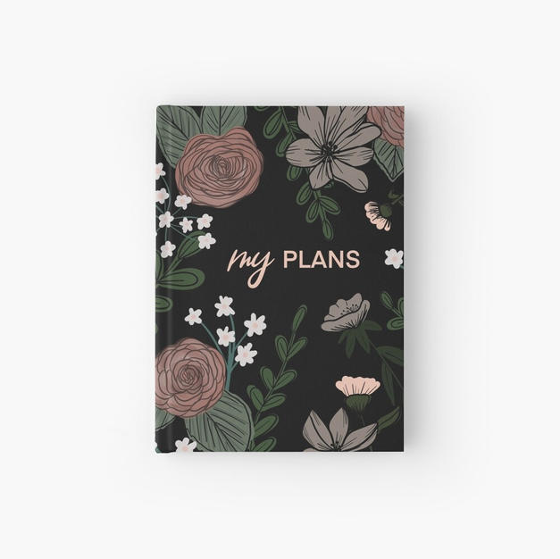My Plans Hardcover Journal