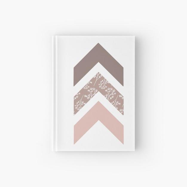 Trisomy 21 Pink Arrows Hardcover Journal