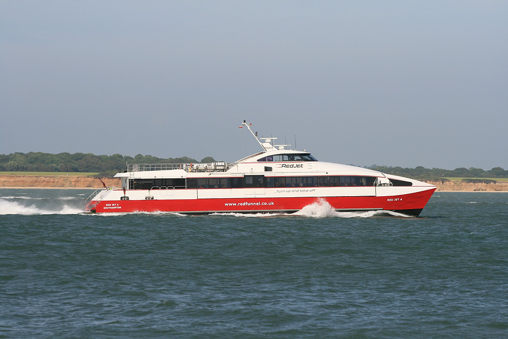 Red Jet Passenger Ferry