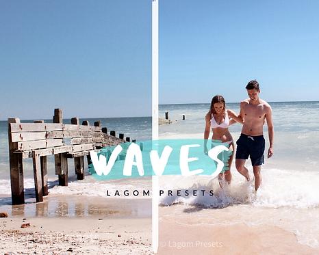 'WAVES' Mobile Lightroom Preset
