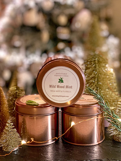 'Wild Wood Mint' Candle