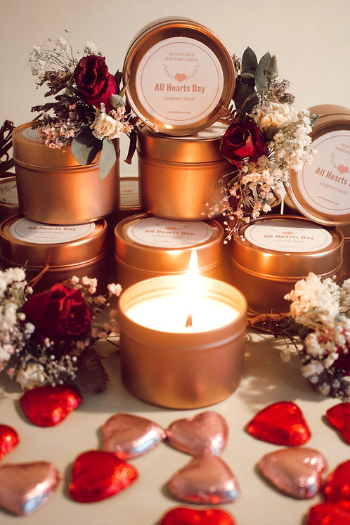 'All Hearts Day' Candle