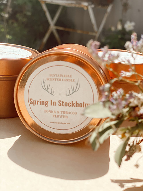 'Spring in Stockholm' Candle