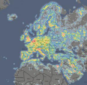 https://www.lightpollutionmap.info/