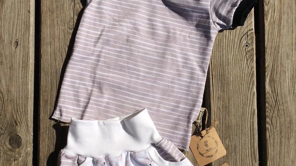 Ensemble short /t shirt 12-18 mois coton bio