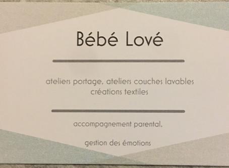 Bienvenue sur le site Bébé Lové Portage
