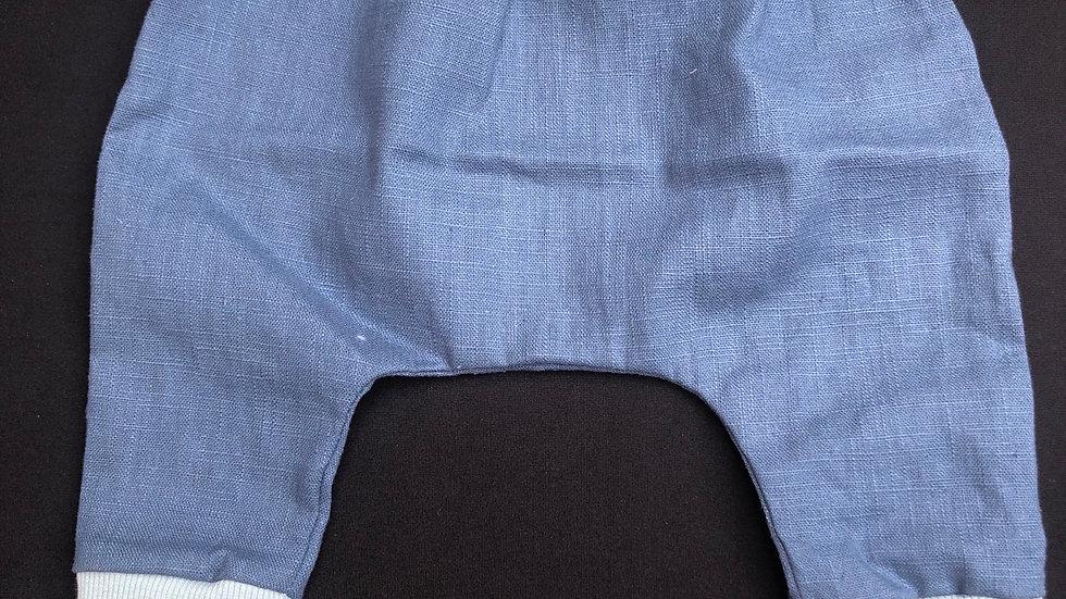 Pantalon en lin lavé 3 mois