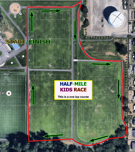 Half Mile Kids Run