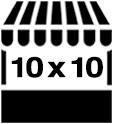 10' x 10' Craft Vendor Booth