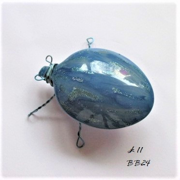 BB24 blue brooch