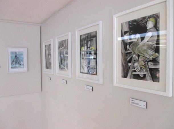 Mining artwork exhibition