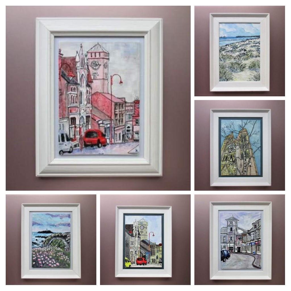 Local Scenes artwork collage