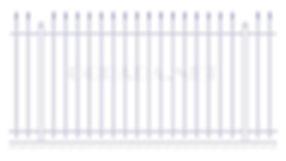 Купить металлический забор сварной ЗС 1800-5 - www.ograda.net