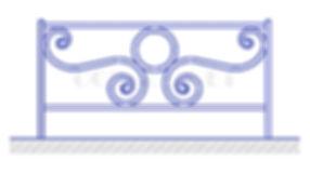 Купить декоративное ограждение ОД-5 - www.ograda.net