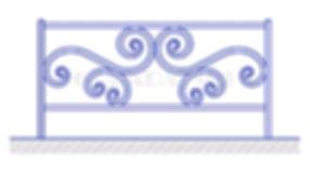Купить декоративное ограждение ОД-6 - www.ograda.net