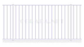 Купить металлический забор сварной ЗС 1800-1 - www.ograda.net