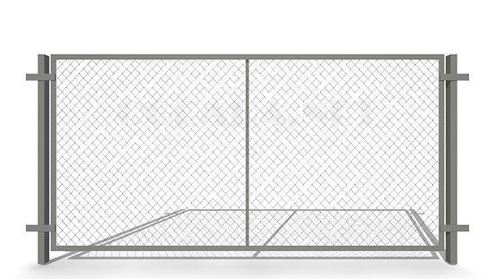 Забор из сетки рабицы секционный ЗР-1550
