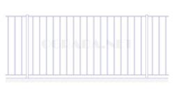 Забор сварной ЗС 1500-1