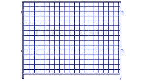 Купить инвентарное строительное ограждение ИСО-16 - www.ograda.net