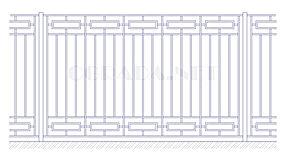 Купить металлический забор сварной ЗС 1800-4 - www.ograda.net