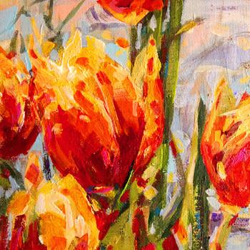 Tulipan5 15 x 15 cm