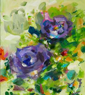 SmartArt Blaue Blume