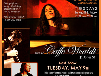 TUES 5/9 Residency Show - Three Doses of Soul