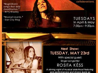 5/23 Residency Show - w/Guest Songbird Rosita Kèss