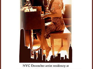 NYC December Artist Residency Announced