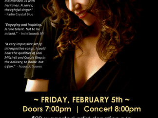 Candlelight Croons Ignite FRI 2/5 in Charleston, SC