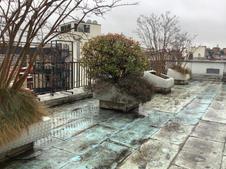 Retrait de jardinière fibro ciment et terre polluée - SS3