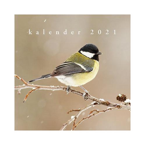 Jaarkalender Vogels 2021