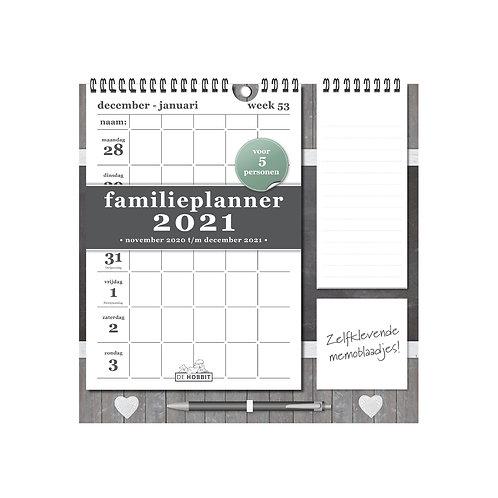 Familieplanner Memo Rechts D1 2021