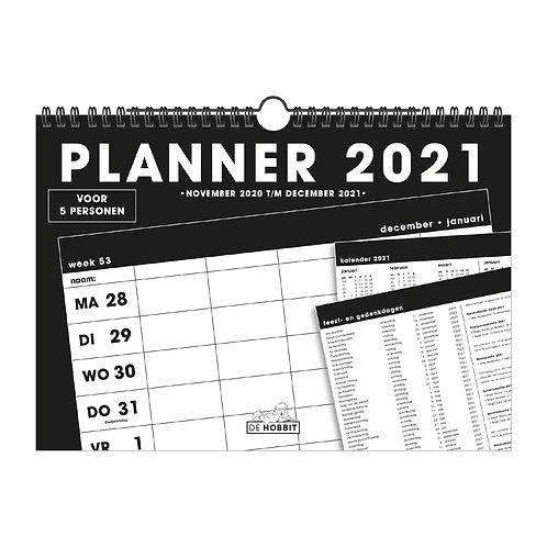 Familieplanner Spiraal D4 2021