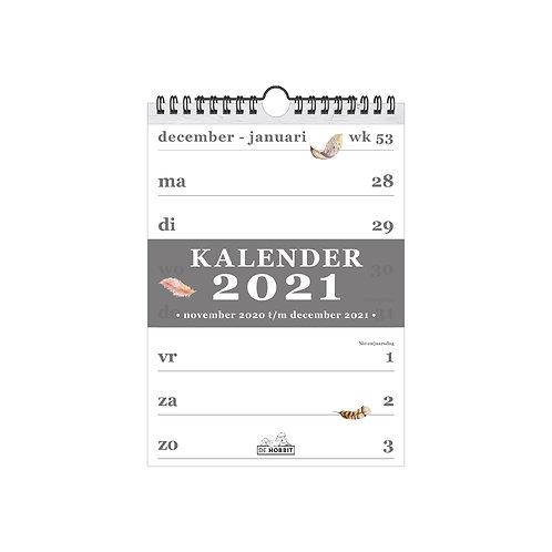 Spiraalkalender A5 D4 2021